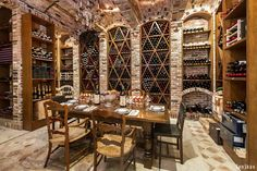 Dining Room Wine Cellar