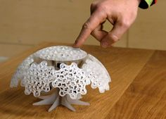 Picture of Tiny Planet: A 3D Printed Mechanical Sculpture