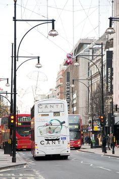 Canti Wines London mega rear #Bus #Advertising #OutdoorAdvertising