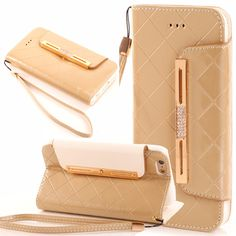 Fashion Wallet Flip Leather Case //Price: $17.94 & FREE Shipping //   #iphoneromeo