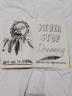 Sleep with the journal. Wreck this journal Dream Journal, Journal 3, Wreck This Journal, Creative Journal, Journal Pages, Bullet Journal Book, Bullet Journals, Art Journal Inspiration, Smash Book