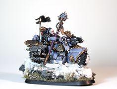 space wolves rune priest biker