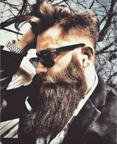 Amazing Beard Styles from Bearded Men Worldwide #MensFashionBeard