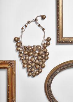 #loranikolova #bijoux&art #necklace #colors #art #madeinitaly #ethnochic #style #bells Colors, Bracelets, Gold, Jewelry, Art, Style, Fashion, Art Background, Swag