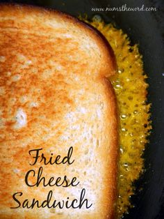 Num's the Word: This new twist on the old grilled cheese might have you running as far away as possible, but if you love the crispy bits of cheese on your sandwiches, then you'll LOVE this sandwich!