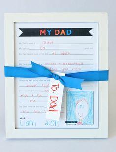 Questionário sobre o papai, Atividades dia dos pais, Datas comemorativas, Eu amo meu pai, Papai