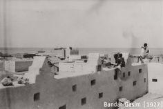Bosaso, bandar qasim, castles, forts, 1927