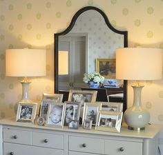 Photo display in Classic Silver Frames {mt}