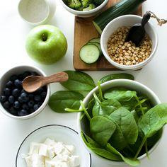 Spinat og annet godt til middag