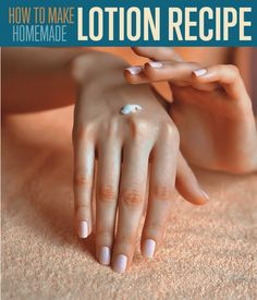 How to Make Lotion Instructions to Make Homemade Lotion with Step by Step Tutorial makes it easy.Make DIY lotion at home. Ingredients for Lotion are simple