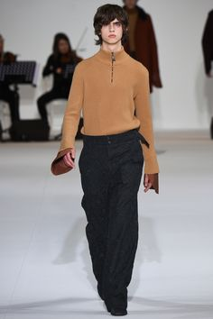 Wooyoungmi showeditsFall/Winter 2016 collection duringParis Fashion Week.