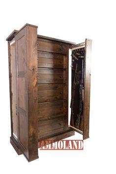 Both Hidden Sides Open; Hidden Gun Drawers Both Hidden Sides Open; Hidden Gun Storage, Secret Storage, Locker Storage, Storage Drawers, Hidden Gun Cabinets, Log Home Interiors, Hidden Compartments, Hidden Rooms, Secret Rooms
