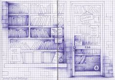 By Andrea Joseph. On graph paper