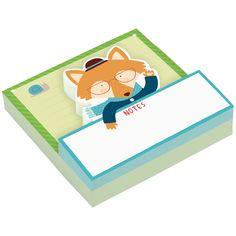 Blocos de Notas : Mr Fox Shaped Memo Pad