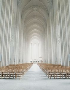 White: Architecture - Grundtvig's Church in Denmark