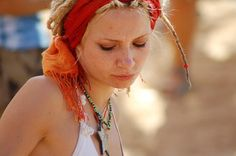 Beautifull psy trance girl