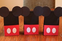 @Gina Giampaolo Peterson Mickey Mouse Treat Bags - Traditional - I know how you like Mickey stuff!!!