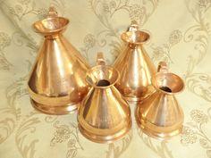 Shabby Chic Kitchen, Farmhouse Style Kitchen, Country Farmhouse, Copper Kitchen Accessories, Kitchenware, Decorative Bells, French Vintage, French Chateau, Etsy Shop
