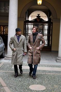 Men's fashion inspired by Bustle period.