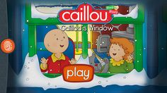 caillou step by step story