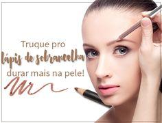 Truque Pro Lápis de Sobrancelha Durar Mais Na Pele!