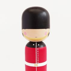 Oh my. I will be pinning a lot of these. Guard Kokeshi doll {Sketch.inc}