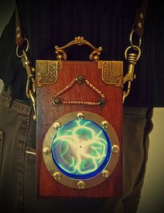 Steampunk S.T.A.S.I.S (Slow Time And Space Initialization Setup) Device