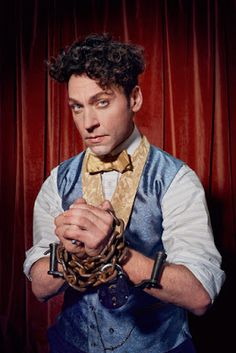 """""""My wife said to me when I got this role, 'I love Houdini. Movies Showing, Movies And Tv Shows, Michael Weston, Magic Store, My Wife, Movie Characters, How To Do Yoga, I Got This, The Magicians"""