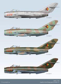 MiG-17F   Tarnschema