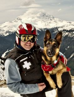 Nick Hall: Crystal Mountain avalanche dog helped in recovery of ranger | The Adventure Guys - The News Tribune
