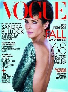 Sandra Bullock, Vogue October