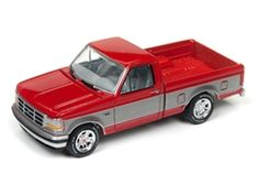Johnny Lightning Classic Gold 1993 Ford (Red with Silver) Scale Diecast Birthday Gifts For Husband, Toyota Trucks, Classic Gold, Diecast Model Cars, Toys For Boys, Cool Toys, Scale Models, Hot Wheels, Lightning