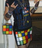 Rubik's cube made of duct tape... :O