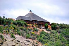 A view of the Lookout restaurant at Kirkwood, South Africa.
