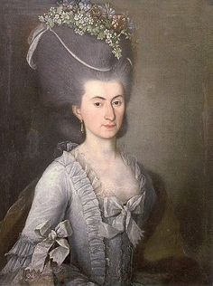 Portrait of a lady, 1780s, Jozef Chojnicki | Olesko Castle
