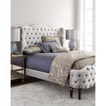 Haute House Pantages California King Tufted Bed