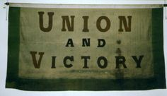 banner, Union and Victory [NMLH1993.705] (image/jpeg)