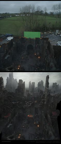 The production of the visual effects for Game of Thrones began in November 2011 and involved nine of the world's twelve Pixomondo studios with a total of 305 digital artists. A separate department with a focus on Matte Painting has been created in Stuttga…