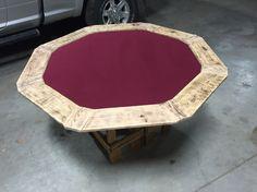 poker table epoxy