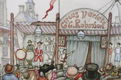 ANTON PIECK - The C. Robinson Circus Variete - PRINT - perfect for framing