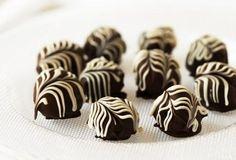 Hazelnut Cookies & Cream Truffles