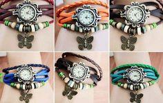 75% off Boho Chic Vintage Inspired Watch - kgbdeals