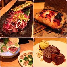 Took advantage of SF Restaurant Week and had a delicious dinner at Roka Akor. Quality was well maintained despite the lower prices. Appetizer: #yellowtail #tataki or 6-piece chef's choice #sashimi Entrée: #Wagyu sirloin #steak with bone marrow or #yuzu-#miso marinated black cod Desserts: #chocolate molten #cake with almond ice-cream #nomnom #instafood #foodstagram #finedining #restaurantweek #sfrestaurantweek #sfrestaurantweek2016 #japanesefood #seafood #chefschoice #raw #yuzumiso #blackcod…