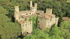 """Castell de santa florentina, en Barcelona. Rodaje de la 6T de """"Juego de Tronos"""""""
