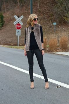 Life with Emily | a life + style blog : Faux Fur...