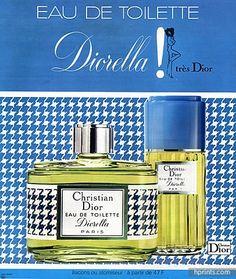 Christian Dior (Perfumes) 1973 René Gruau, Diorella