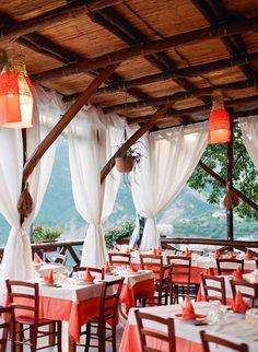 Photogallery of La Tagliata restaurant Montepertuso, Positano in Amalfi Coast