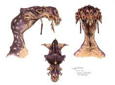 alien species old concept art - Google keresés
