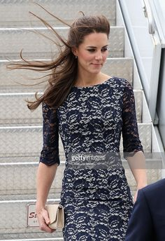Catherine, Duchess of Cambridge arrives at Macdonald-Cartier International Airport on June 30, 2011 in Ottawa, Canada. The newly married Royal Couple have arrived in Canada today for their first joint overseas tour. Ottawa is the start of a 12-day visit to North America which will take in some of the more remote areas of the country such as Prince Edward Island, Yellowknife and Calgary. The Royal couple will also join millions of Canadians to take part in tomorrow's Canada Day celebrations…
