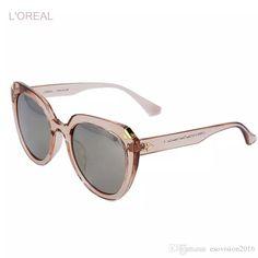 2974e01e001 2017 L Oreal Sunglasses Famous Brand With Logo Woman Sunglasses Pink Lens  Black Ice Sunglasses Hot Sale Polarize Sungalsses Quality For Man Bolle  Sunglasses ...
